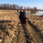wczesno-wiosenny teren do Roszkowej Woli