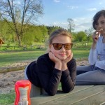 a po jazdach, czas na odpoczynek :) Julka i Ola