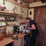 Paweł - gospodarz chaty w Ulaskach